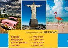 Oferte Promotionale de la AIR FRANCE – Asia de la 499 euro