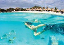 Riviera Maya sau fuga de la frig la cald!